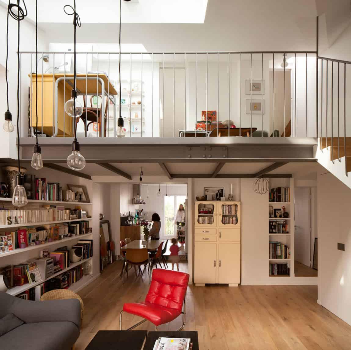 Duplex in Saint-Mandé by CAIROS Architecture et Paysage (2)