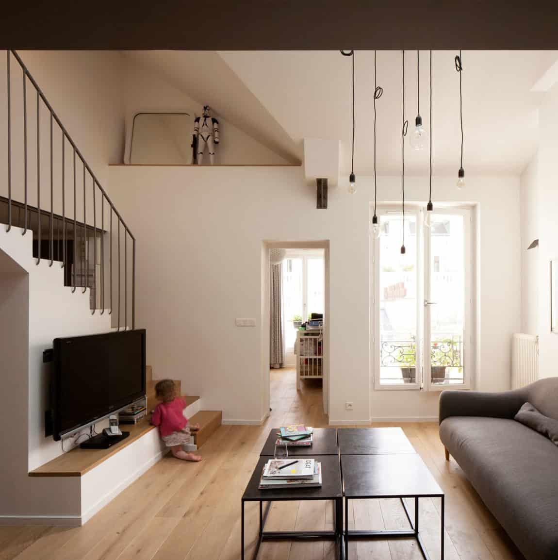 Duplex in Saint-Mandé by CAIROS Architecture et Paysage (5)