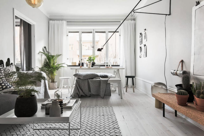 A Bright And Chic Apartment In Stockholm