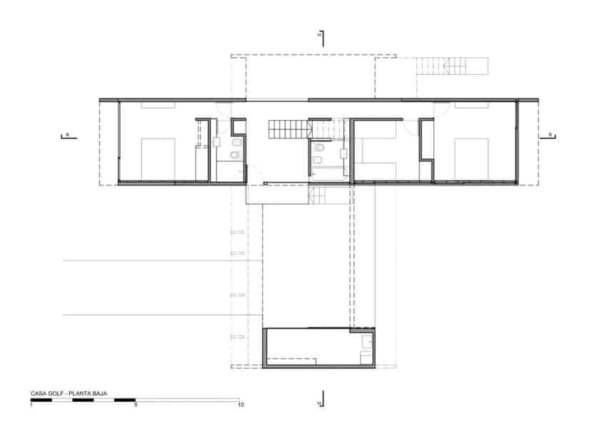 Golf House by Luciano Kruk Arquitectos (18)