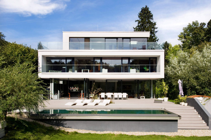 Wunschhaus Architektur Design a Contemporary House in Hinterbrühl