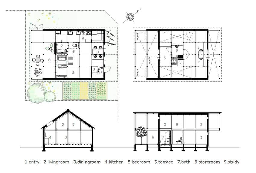 House in Shinkawa by Yoshichika Takagi (15)