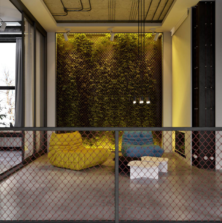 Industrial Style Apartment in Kiev by Ruslan Kovalchuk (2)