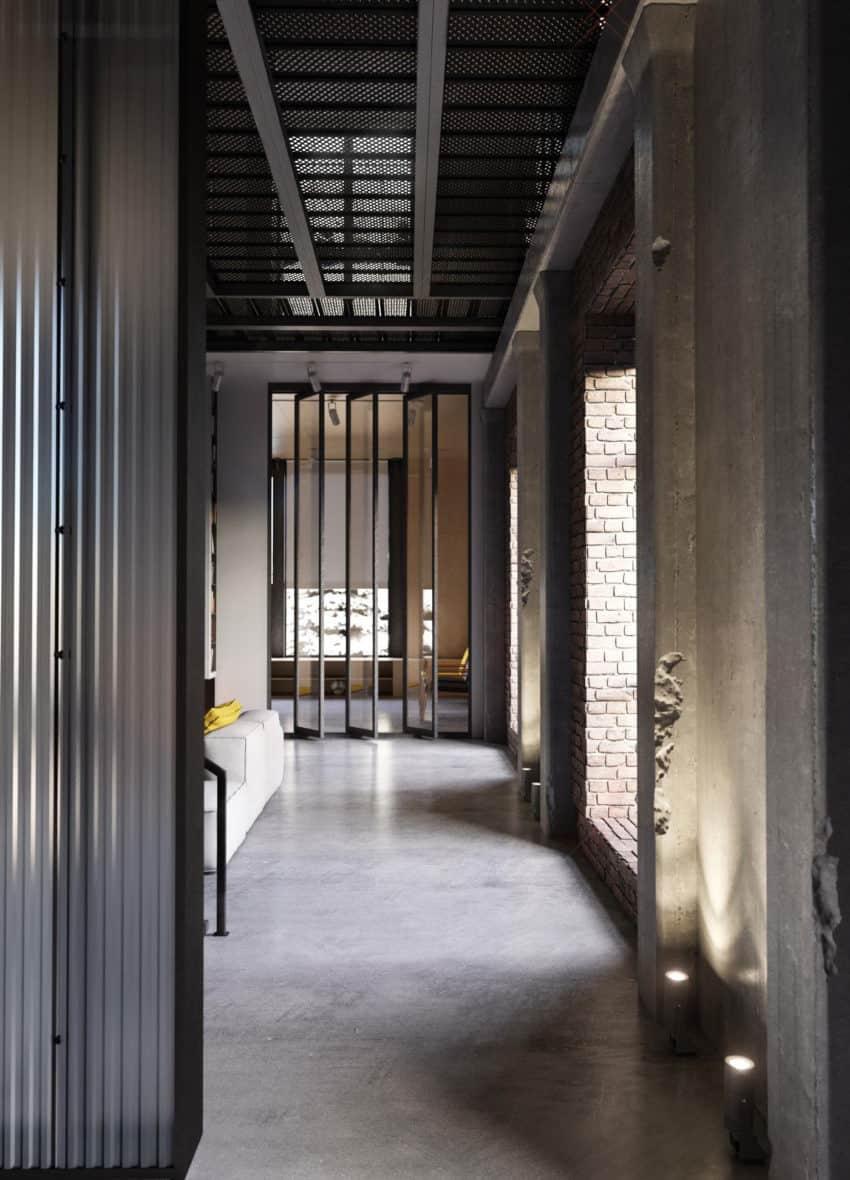 Industrial Style Apartment in Kiev by Ruslan Kovalchuk (3)