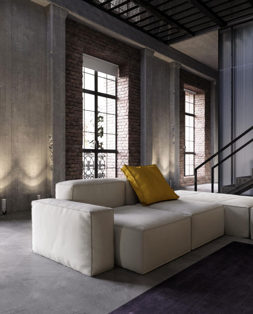 Industrial Style Apartment in Kiev by Ruslan Kovalchuk (8)