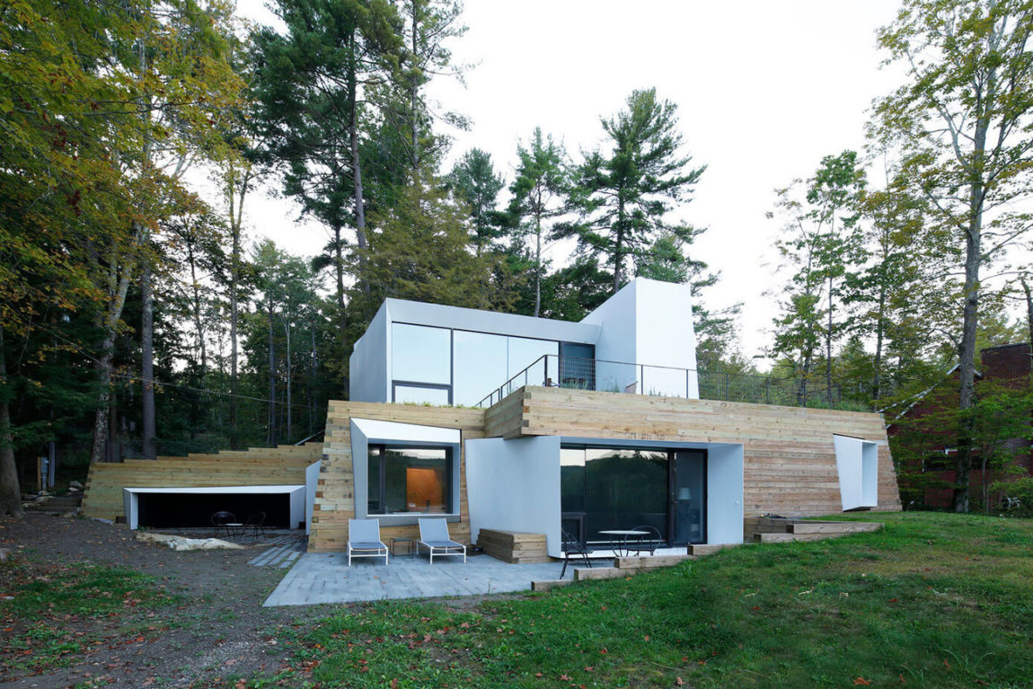 Lake House by Taylor and Miller Architecture (2)