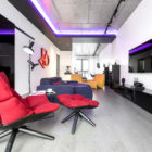 Neon Apartment in Moscow by Geometrix Design (9)