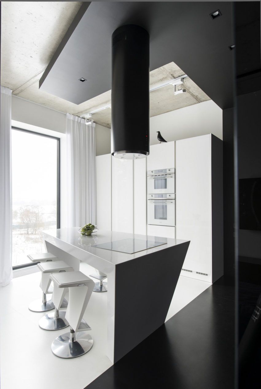 Neon Apartment in Moscow by Geometrix Design (12)