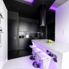 Neon Apartment in Moscow by Geometrix Design (14)