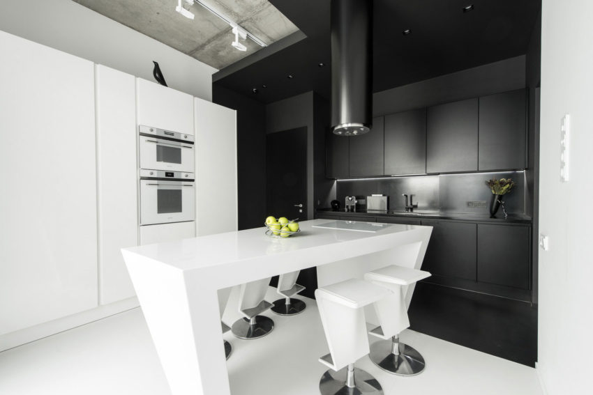 Neon Apartment in Moscow by Geometrix Design (15)