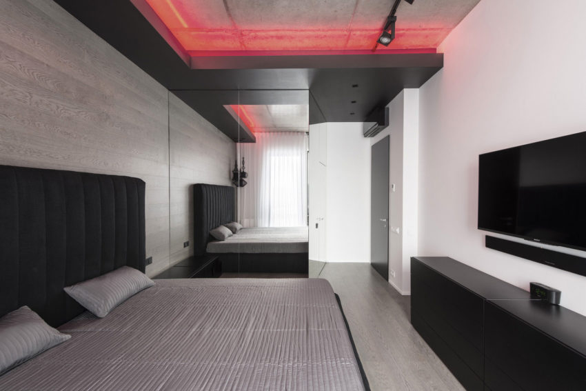 Neon Apartment in Moscow by Geometrix Design (21)