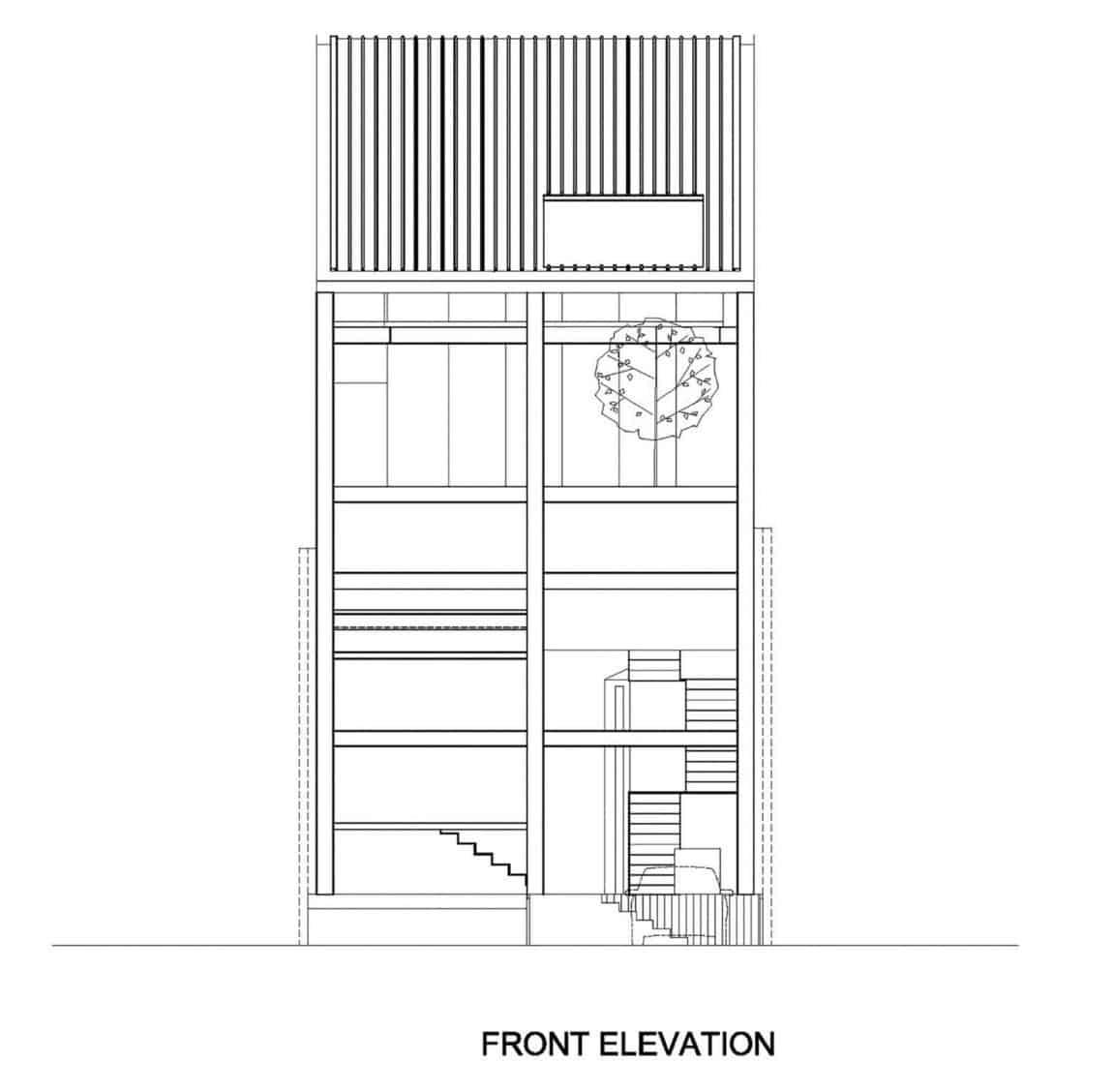 Slanted House by Budi Pradono Architects (18)