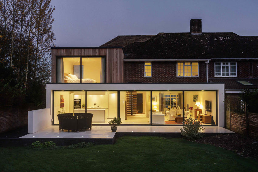 The Beckett House by Adam Knibb Architects (8)