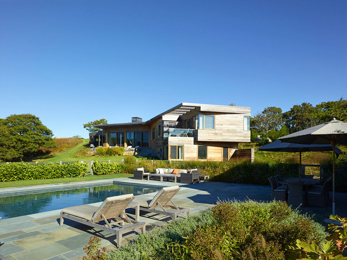 Vineyard Farm House by Charles Rose Architects (4)