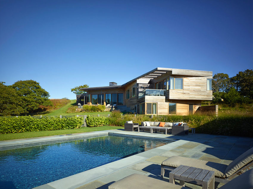 Vineyard Farm House by Charles Rose Architects (5)