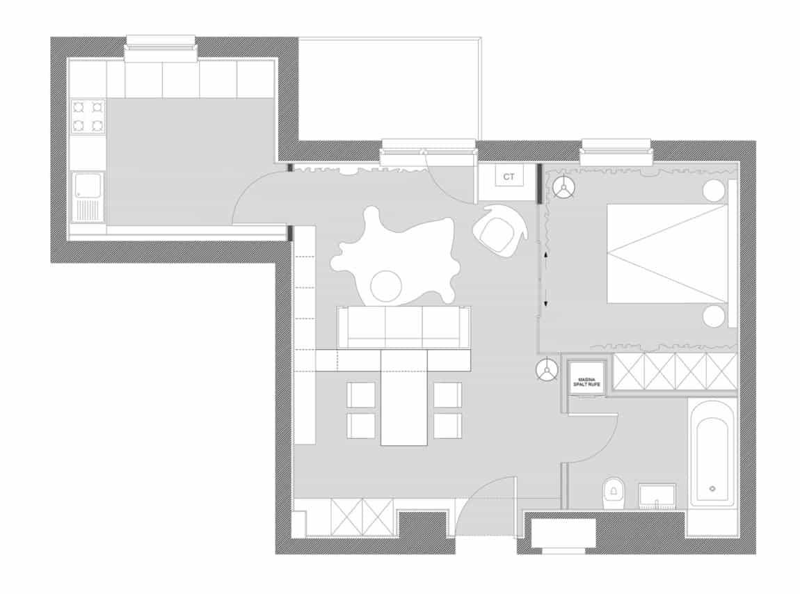 Apartment No. 3 by Bogdan Ciocodeică & Diana Roşu (20)
