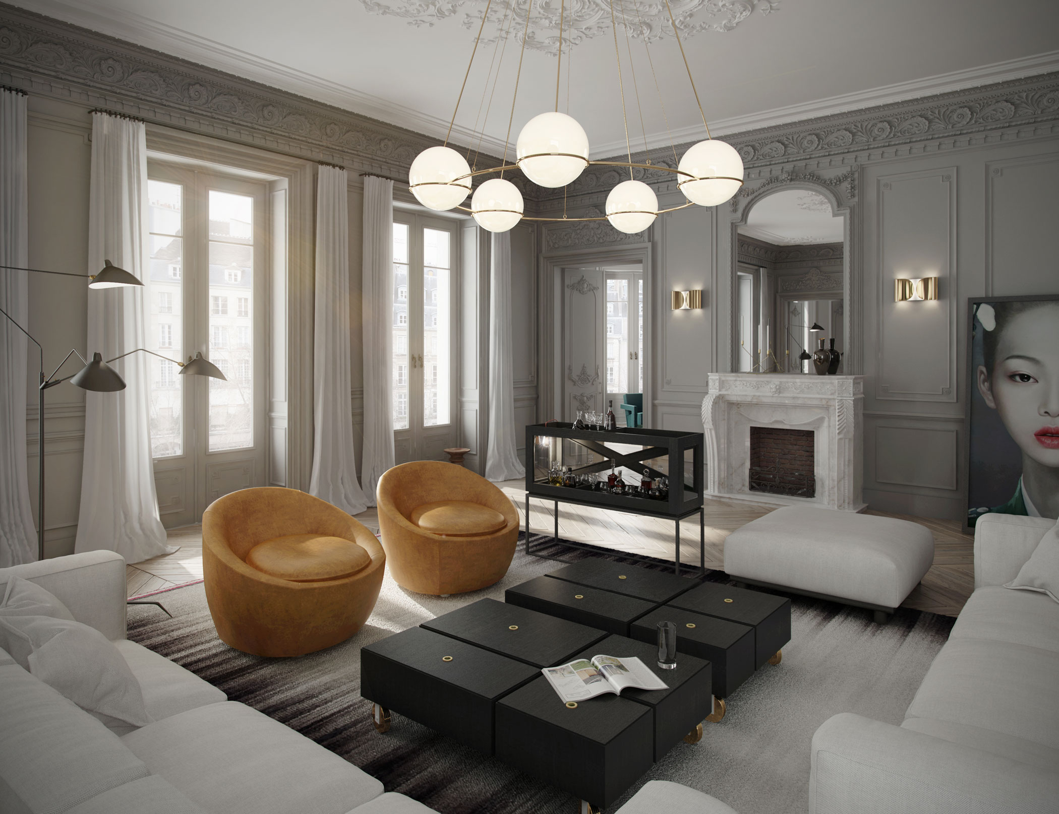 London Based Art Buro Designs A Sophisticated Apartment In