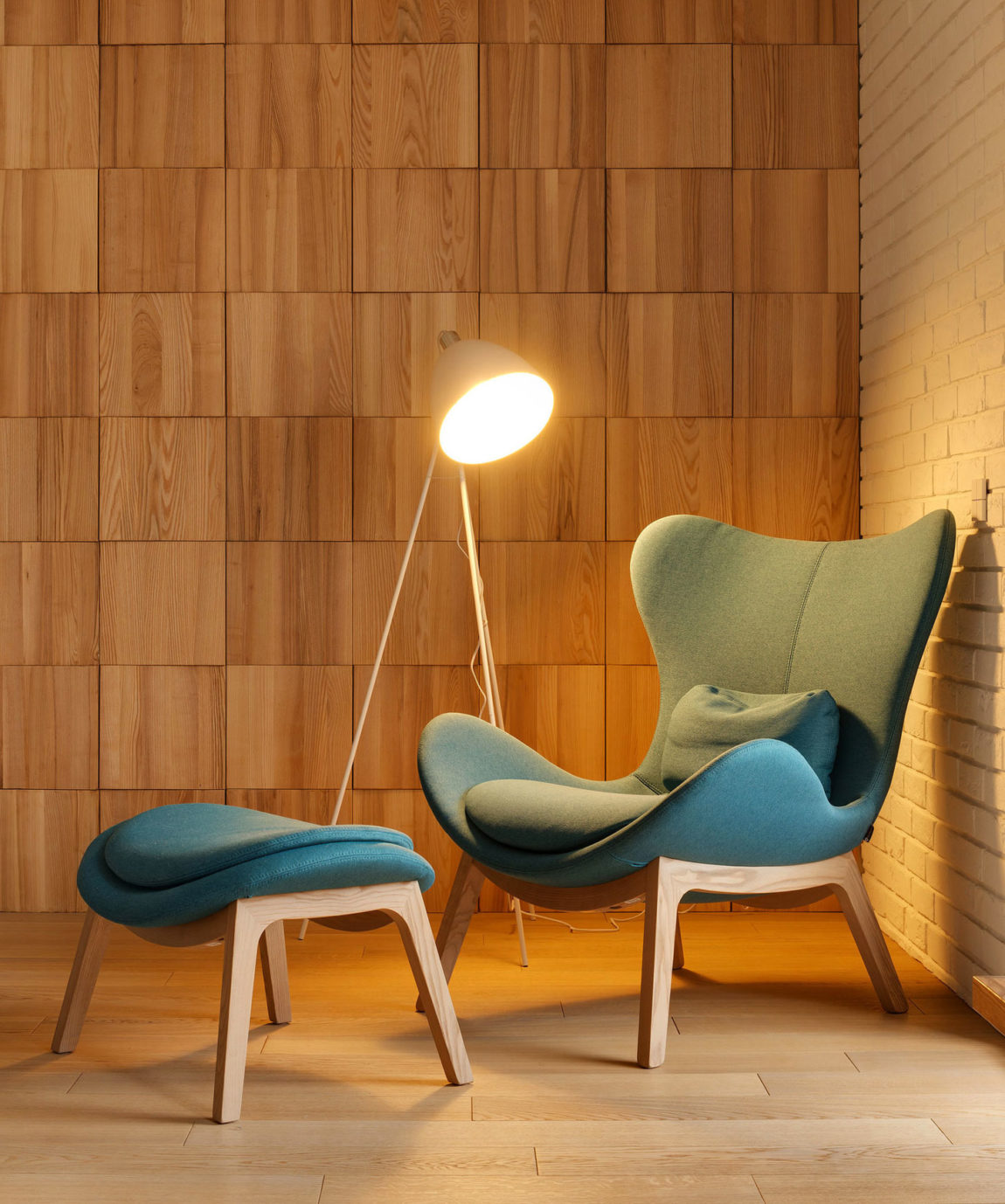 Apartment with a Slide by KI Design (3)