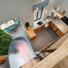 Apartment with a Slide by KI Design (13)