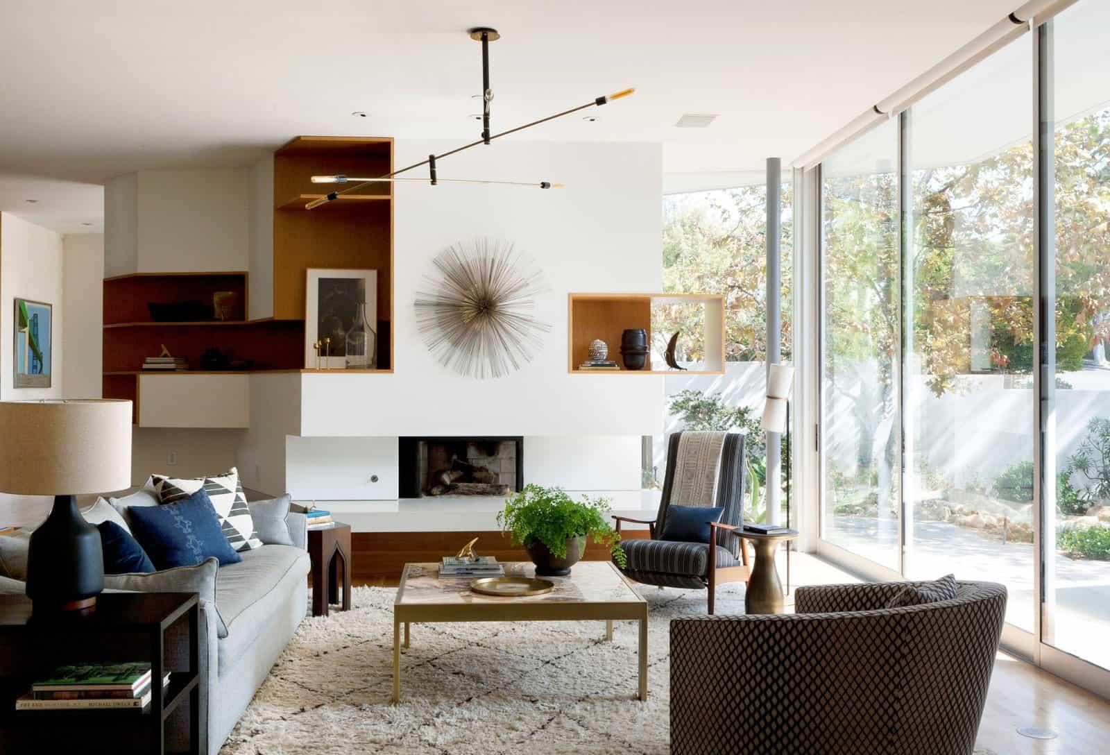 Disc Interiors Design A Contemporary Residence In Santa Monica California