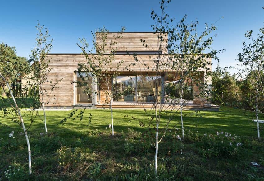 Cedar House by Mariusz Wrzeszcz Office (1)