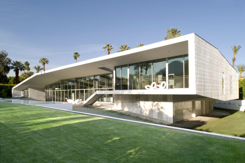 Desert Canopy House by Sander Architects (1)