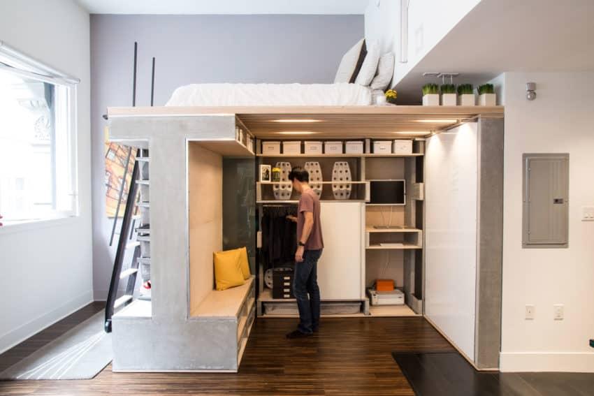A Tiny Apartment In San Francisco California