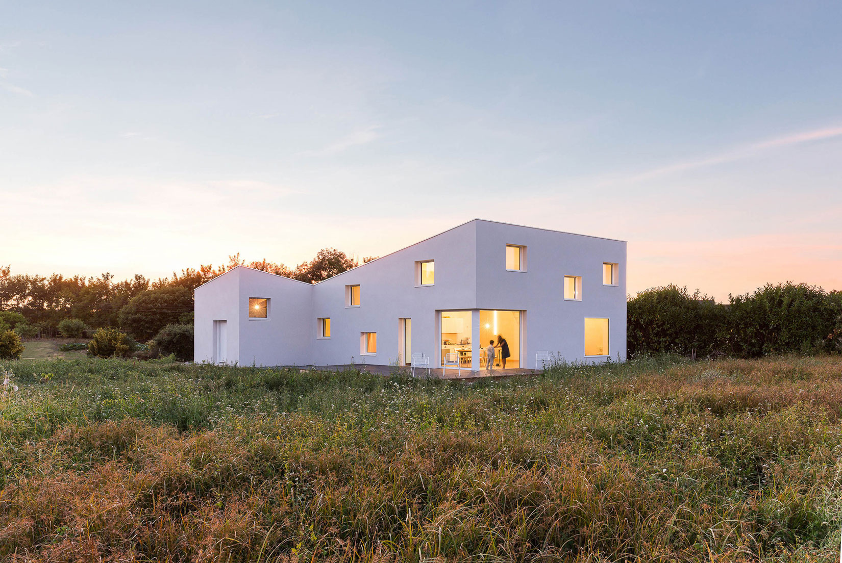 Studio Razavi Architecture Designs a Residence to Serve as Summer Home and Studio for a Photographer