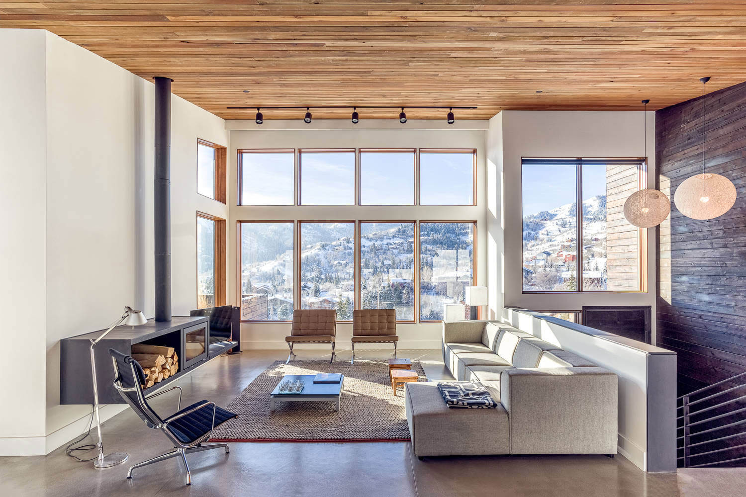 Park City Design Build Creates A Cozy Retreat In The Snowed Up Mountains Of Park  City, Utah