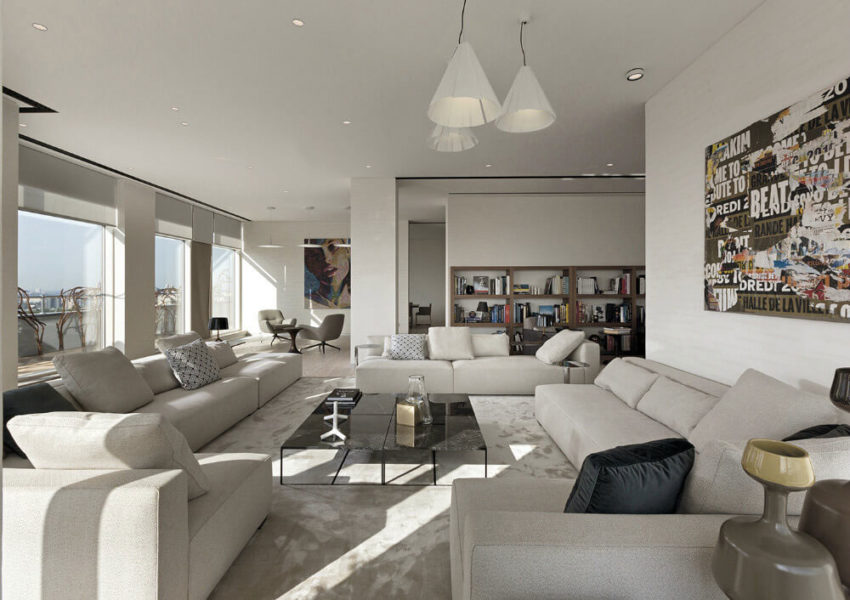 Kiev Apartment by Minotti London & Red Button Dev (9)