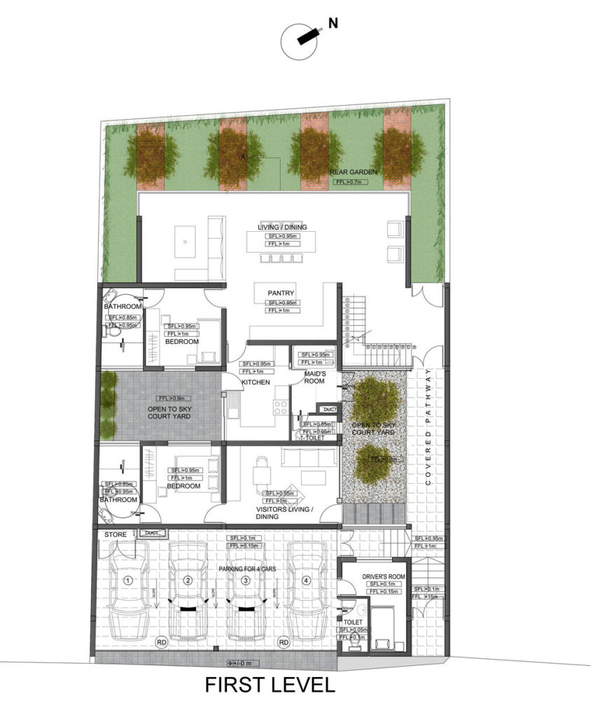 Layered House by KWA Architects (15)
