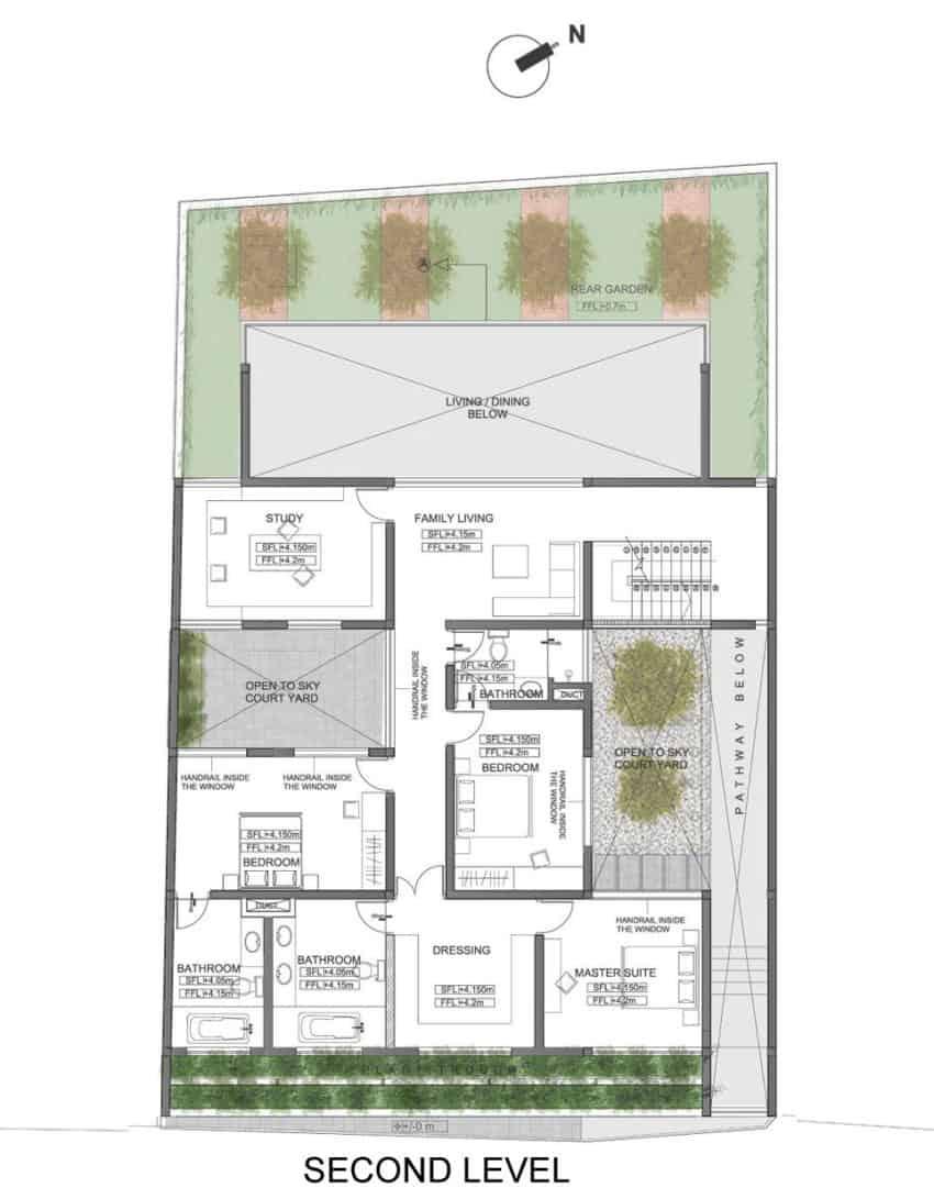 Layered House by KWA Architects (16)