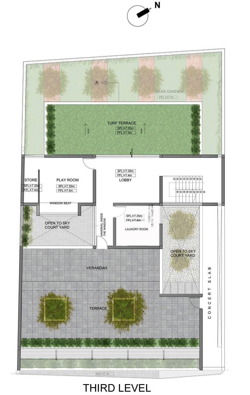 Layered House by KWA Architects (17)