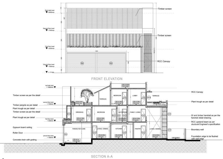 Layered House by KWA Architects (19)