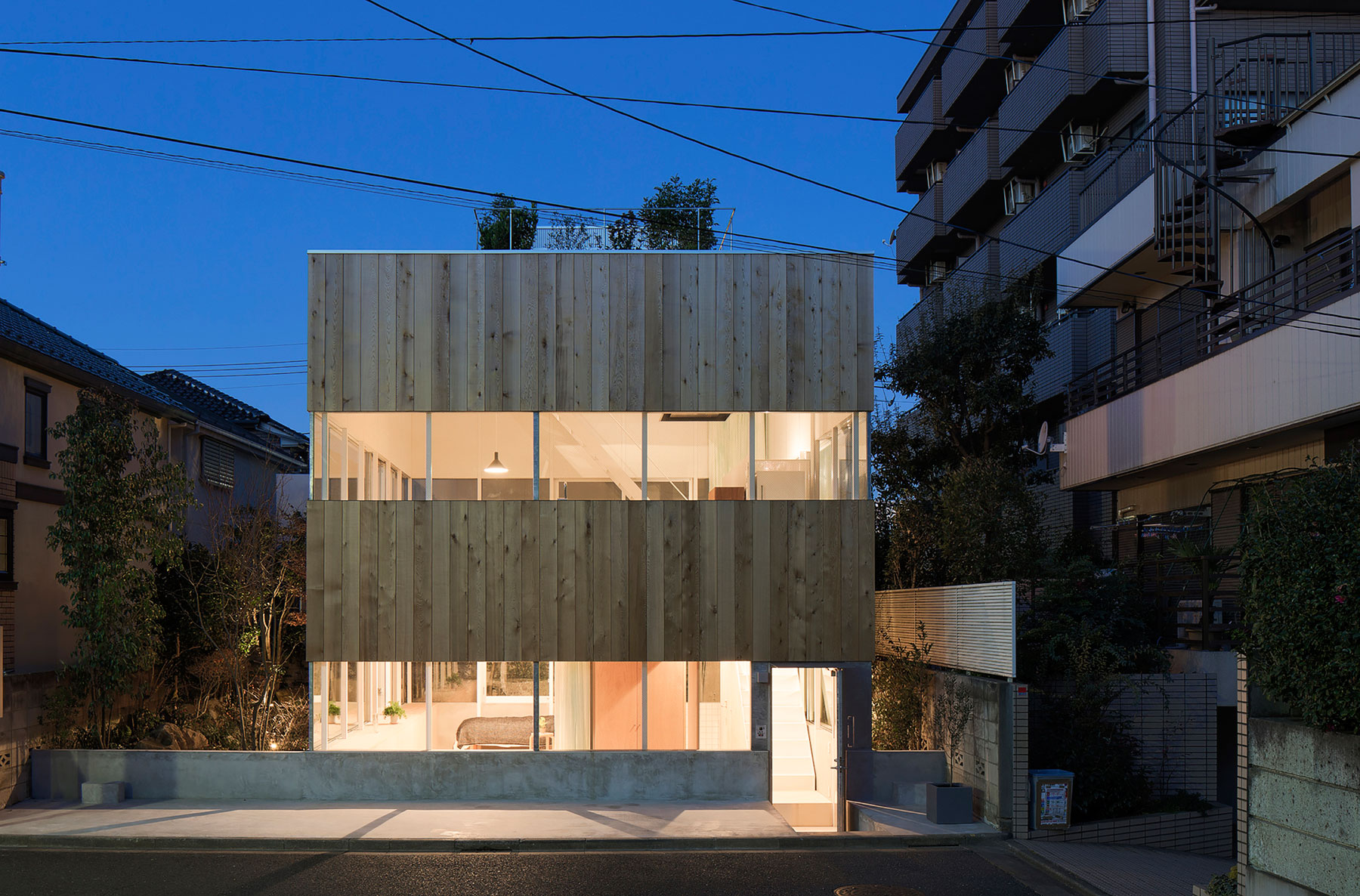 Elding Oscarson Designs A Luminous Contemporary Home In Tokyo