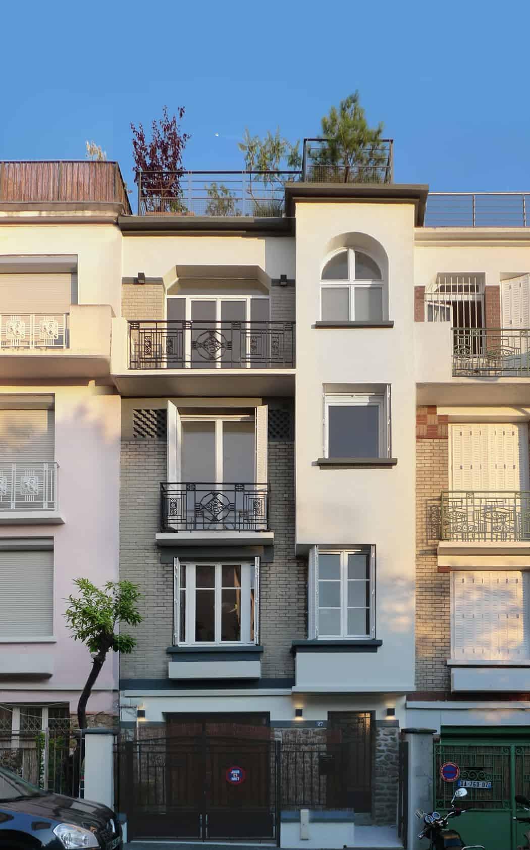 Paris Row House by Eitan Hammer (1)