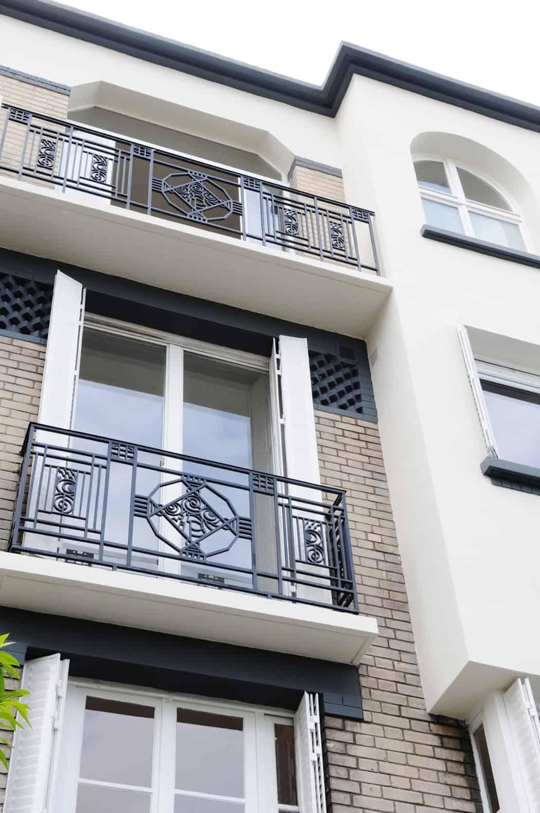 Paris Row House by Eitan Hammer (2)