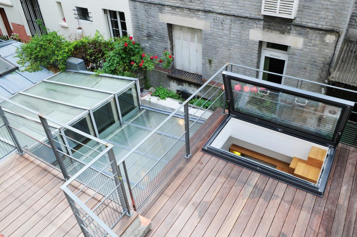 Paris Row House by Eitan Hammer (4)