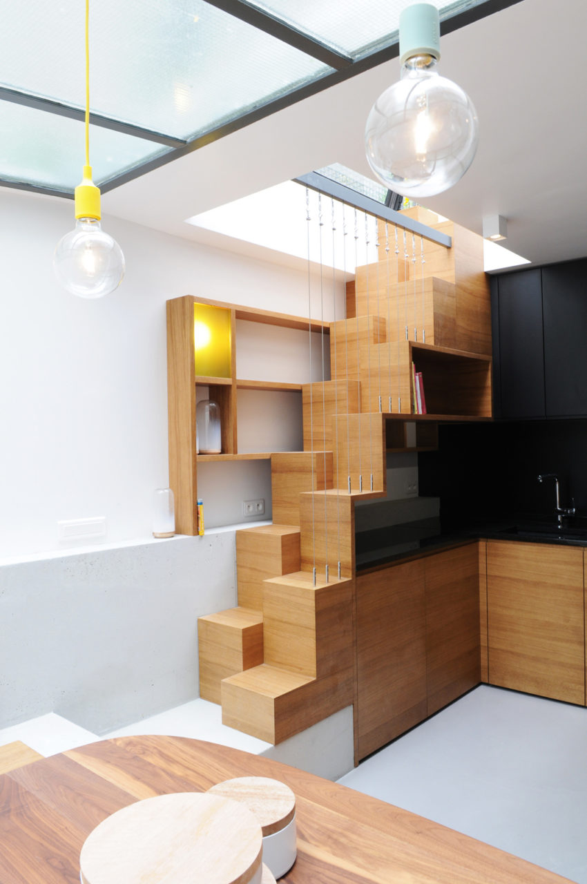 Paris Row House by Eitan Hammer (14)