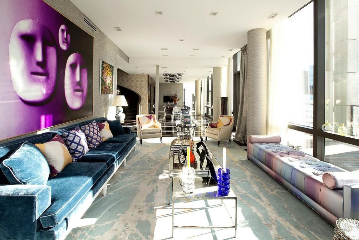 Tribeca Penthouse by Richard Mishaan (1)