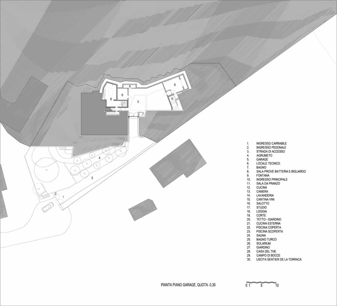 Villa La Madone by A2CM & Ceschia e Mentil Arch (21)
