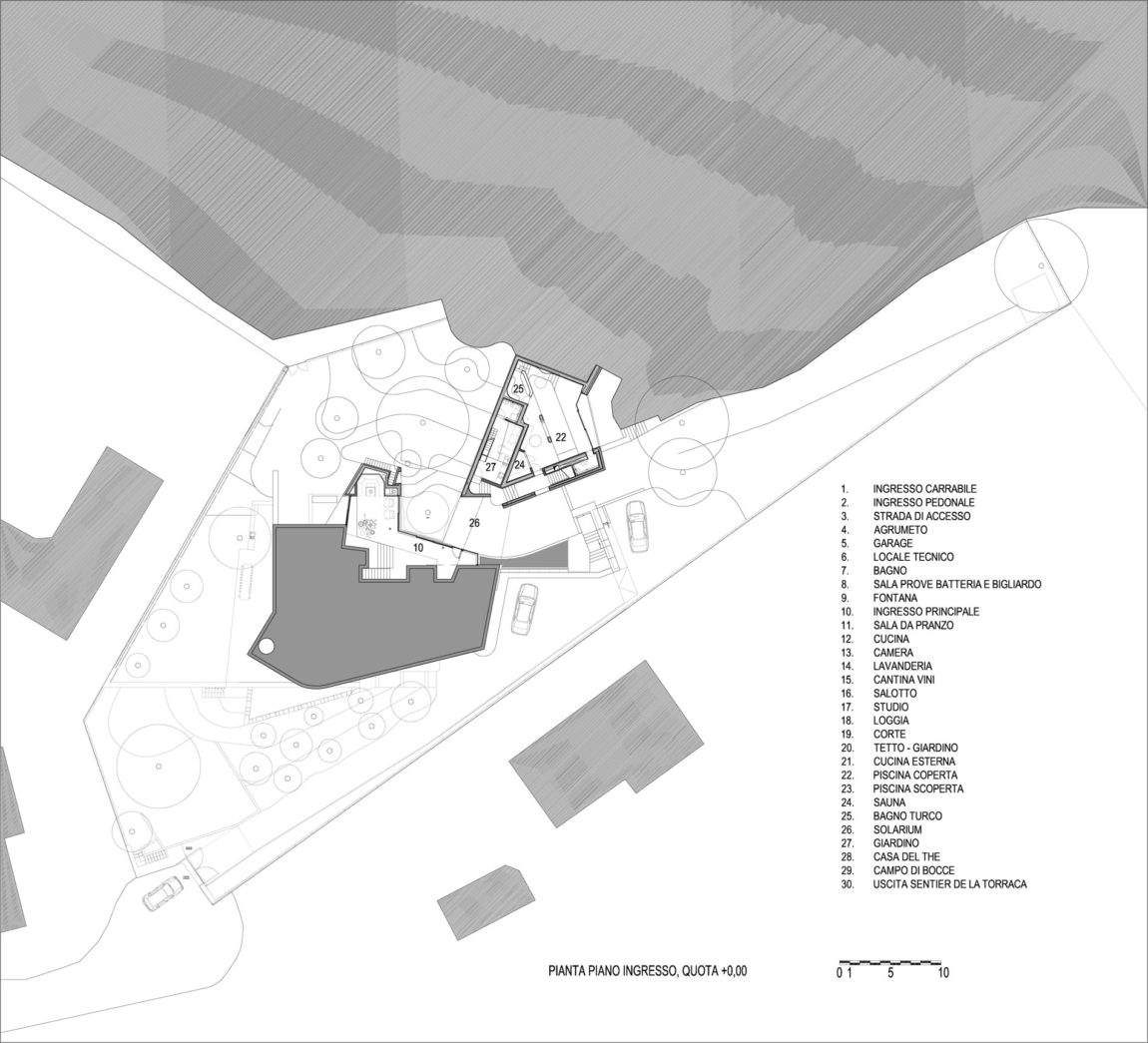 Villa La Madone by A2CM & Ceschia e Mentil Arch (23)