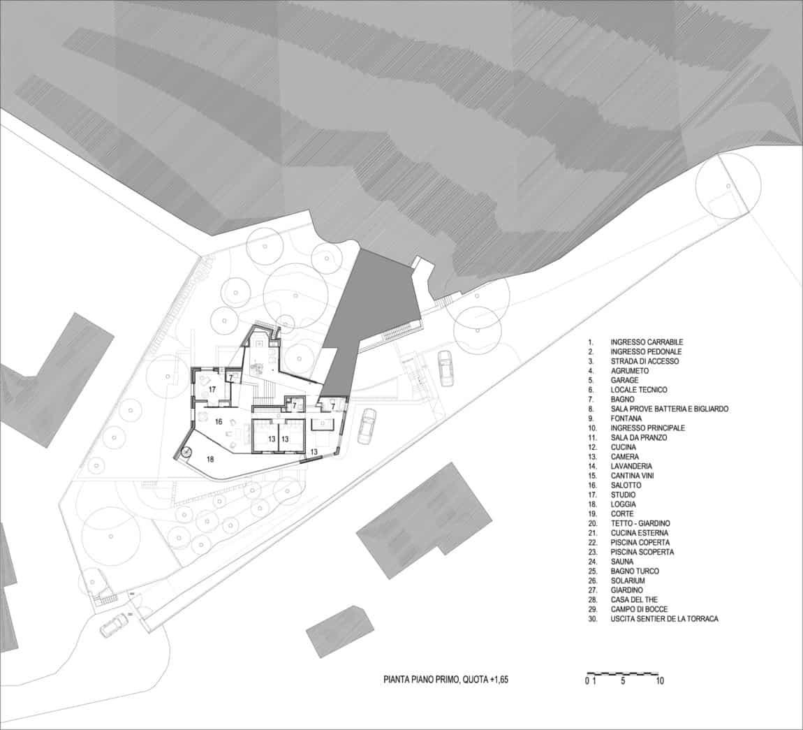 Villa La Madone by A2CM & Ceschia e Mentil Arch (24)