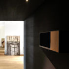 Wood and Iron Apartment by Luca Compri (1)