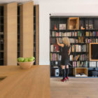 Wood and Iron Apartment by Luca Compri (6)