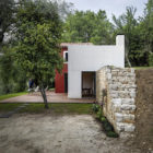 A Rural Home in Sclos de Contes by Cyril Chenebeau Arch (8)