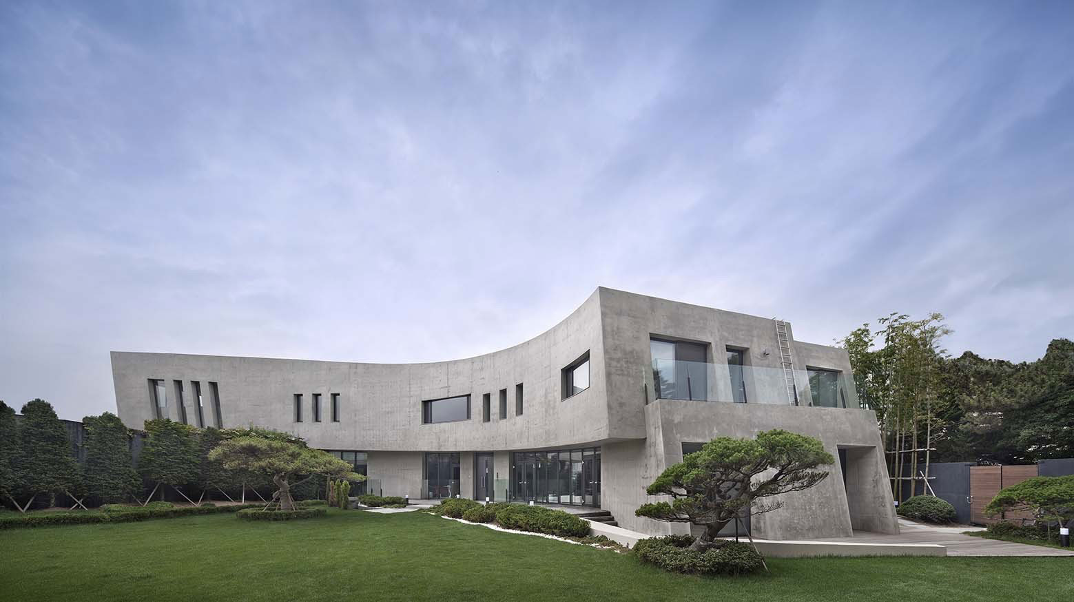 A unique feat of architecture in busan south korea for Modern house korea