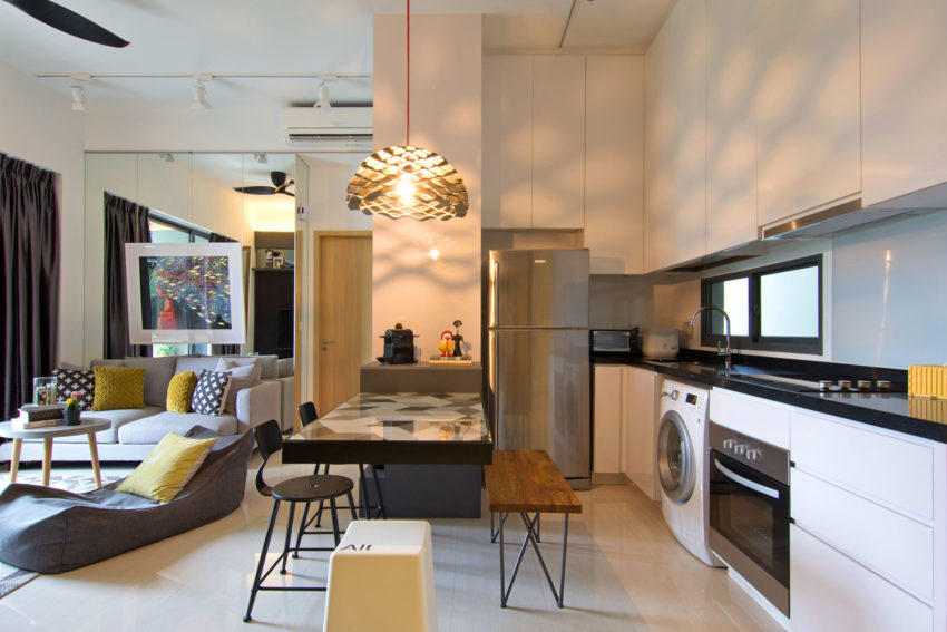 Apartment in Singapore by Knq Associates (3)