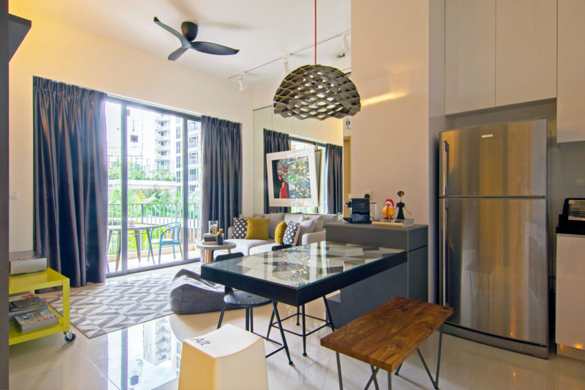 Apartment in Singapore by Knq Associates (4)
