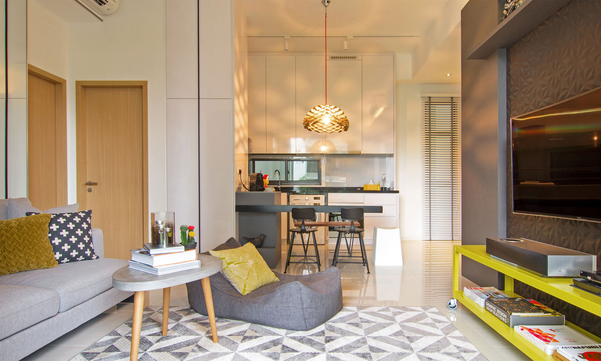 Associates Design A Stylish Apartment In Singapore